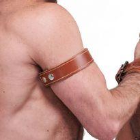Mr. B Læder biceps bånd