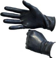 Sorte gummi handsker i super kvalitet