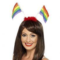 Hårbøjle med PrideFlag