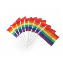 Club HomowareLille Prideflag på pind