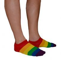 Pride ankel strømper