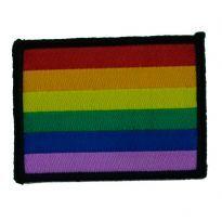 Club HomowarePride Patch, 7 x 5,2cm