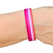 Pride stof-armbånd