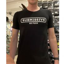 Mister B Statement T-Shirt: Submissive
