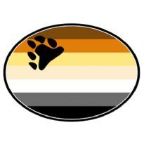 Club HomowareMagnet til bilen, BEAR flag motiv