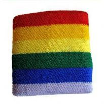 Regnbue svedbånd