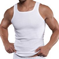 C-IN2 Square Neck Tank Top, Hvid