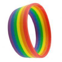 Regnbue armbånd