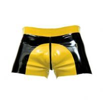 Club Homoware Gummi saddle shorts - Gul, Large