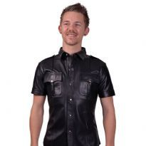 Club HomowarePoliti skjorte med korte ærmer, Large