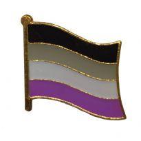 Bølgende Aseksuel Flag