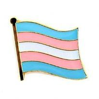 Wavy Transgender Flag-pin