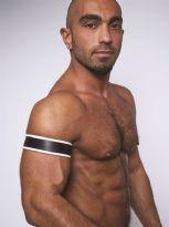 Mister B Læder Biceps Bånd