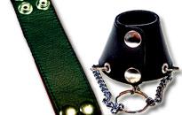 Få et maskulint look med en fræk læder stretcher, Frækt og maskulint Look.