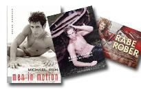 Fotobøger med billeder af flotte fyre, Lækre mænd i flotte fotobøger