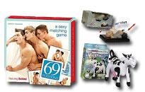 Sjove gaver med et seksuelt præg, Skøre gaver, Spøg og skæmt