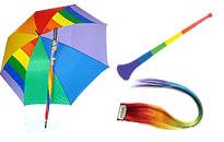 Regnbueparaplyen kan give det rette look,Bliv klar til Priden