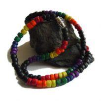Regnbue halskæde