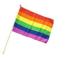 Gaypride håndflag i stof