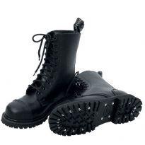 Læder Støvler fra Knightsbridge 10 huls