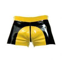 Gummi saddle shorts - Gul