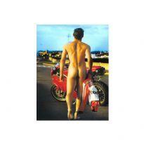 Naked biker boy