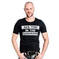 Mr. B t-shirt: Darkroom
