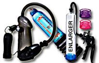 Lækre penispumper for større erektion, Vacuumpumper som giver en større erektion, Kraftige pumper til din manddom