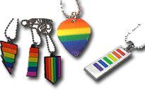 Bær regnbuen om halsen,Vis din stolthed i en fed halskæde