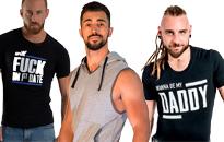 T-shirts for lækre fyre, Trendy shirt til mænd, Lækre T-shirt