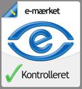 Homoware.dk er godkendt af e-m�rket